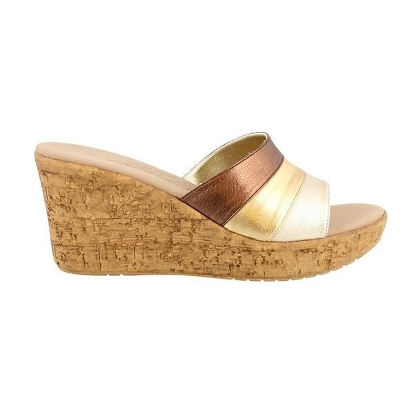 Onex Womens Balero Open Toe Casual Platform Sandals