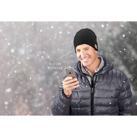 Smartphone Bluetooth Hat - Black