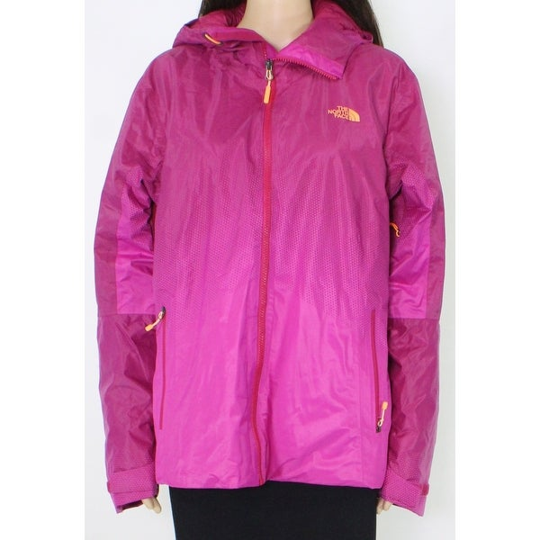 The North Face Womens Jacket Purple Size XL Hooded Vagabond Insulated