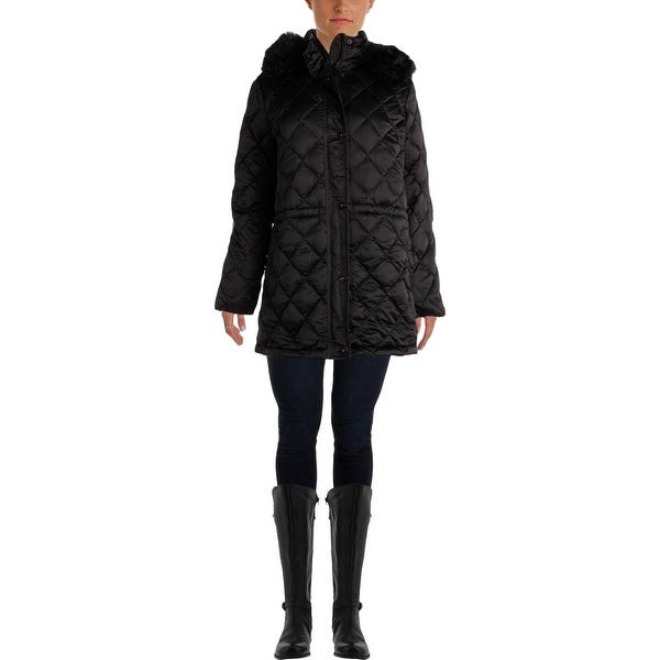 Lauren Ralph Lauren Womens Parka Quilted Down