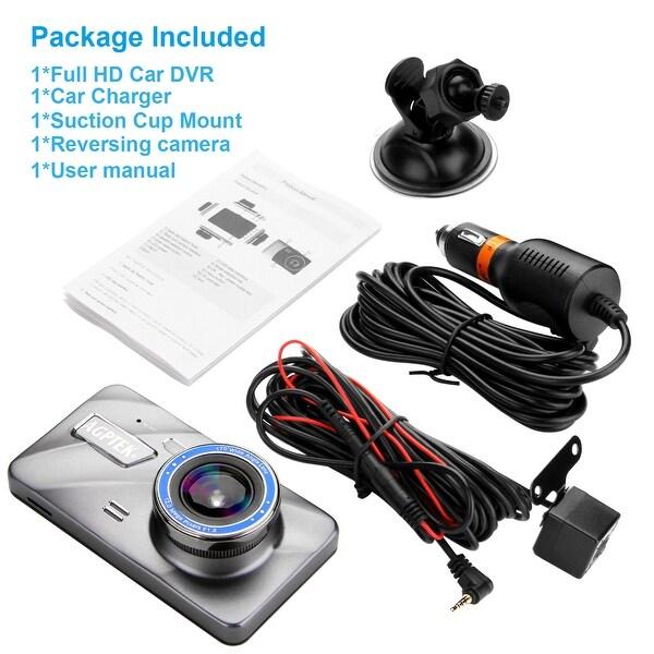 "4/"" Vehicle 1080P Car Dashboard DVR Camera Video Recorder Dash Cam G-Sensor"