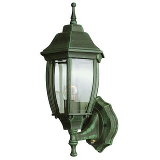 Trans Globe Lighting 4470 Single Light Up Lighting Outdoor Photocell Wall Sconce from the Outdoor Collection