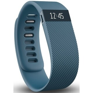 Fitbit - Charge Wireless Activity Tracker  (Small) - Slate