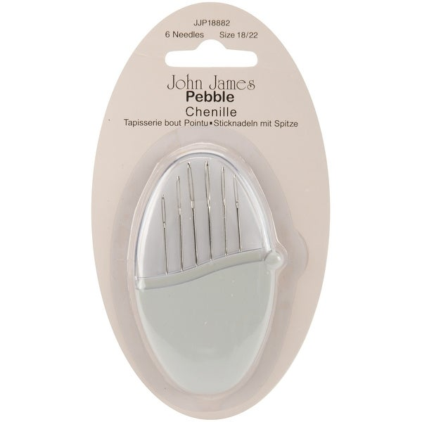 Pebbles Chenille Needles-Size 18/22 6/Pkg