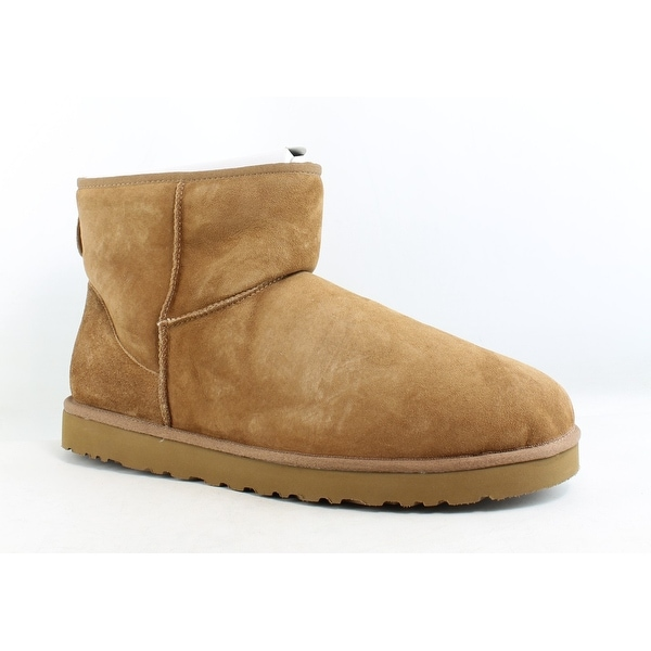 8454bb3ab06 Shop UGG Mens Classic Mini Chestnut Snow Boots Size 18 - On Sale ...