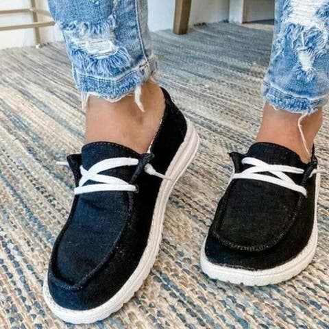 Lightweight Slip On Canvas Shoes