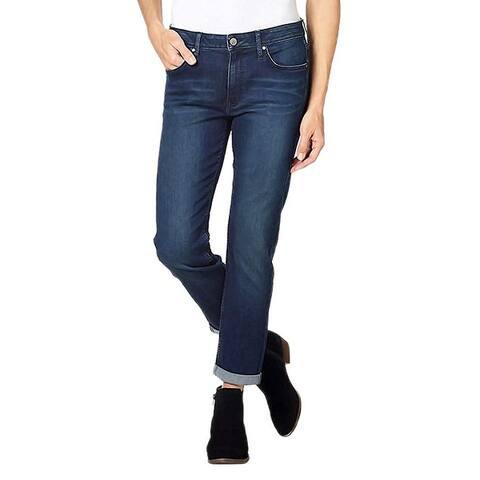 Calvin Klein Jeans Women's Slim Boyfriend Fit Rolled Cuff