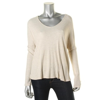 One Clothing Womens Juniors Thermal Hi-Low Tunic Top