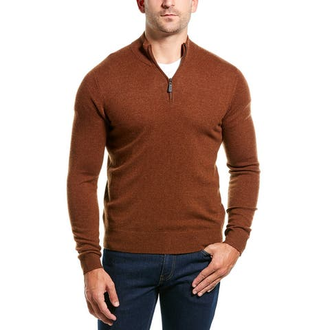 Mette 1/4-Zip Cashmere Pullover