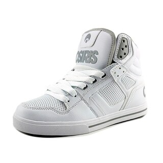 Osiris Clone Youth Round Toe Synthetic White Skate Shoe