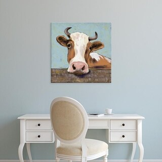 Easy Art Prints Jade Reynolds's 'Bessy' Premium Canvas Art