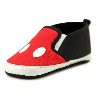 Disney Mickey Slip-On Round Toe Synthetic Sneakers