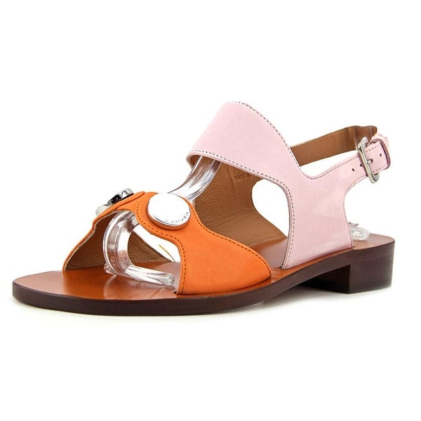Carven Sandales Plates Women Orange/Rose Sandals