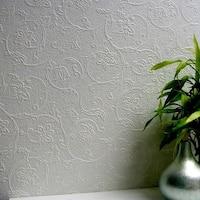 Brewster 437-RD4012 Heaton Paintable Textured Vinyl Wallpaper - N/A