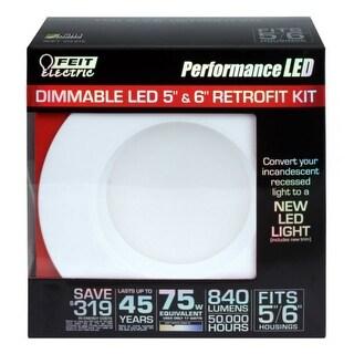 "Feit Electric LEDR56/830 Dimmable LED Retrofit Kit, Soft White, 5"" & 6"""