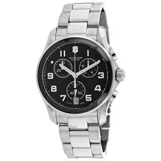 Swiss Army Men's Chrono Classic 241544 Black Dial Watch