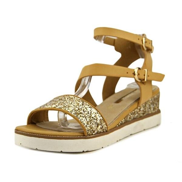 Maria Mare 66721 Women Beige/Glitter Champagne Sandals