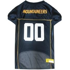 Collegiate West Virginia University Mountaineers Pet Jersey