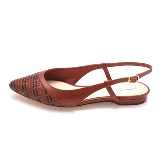 Cole Haan Womens 14A4071 Pointed Toe SlingBack Slingback Flats - 6 (2 options available)