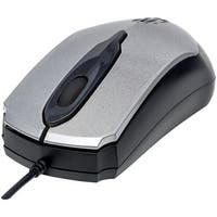 Manhattan Edge Optical Usb Mouse (gray And Black)