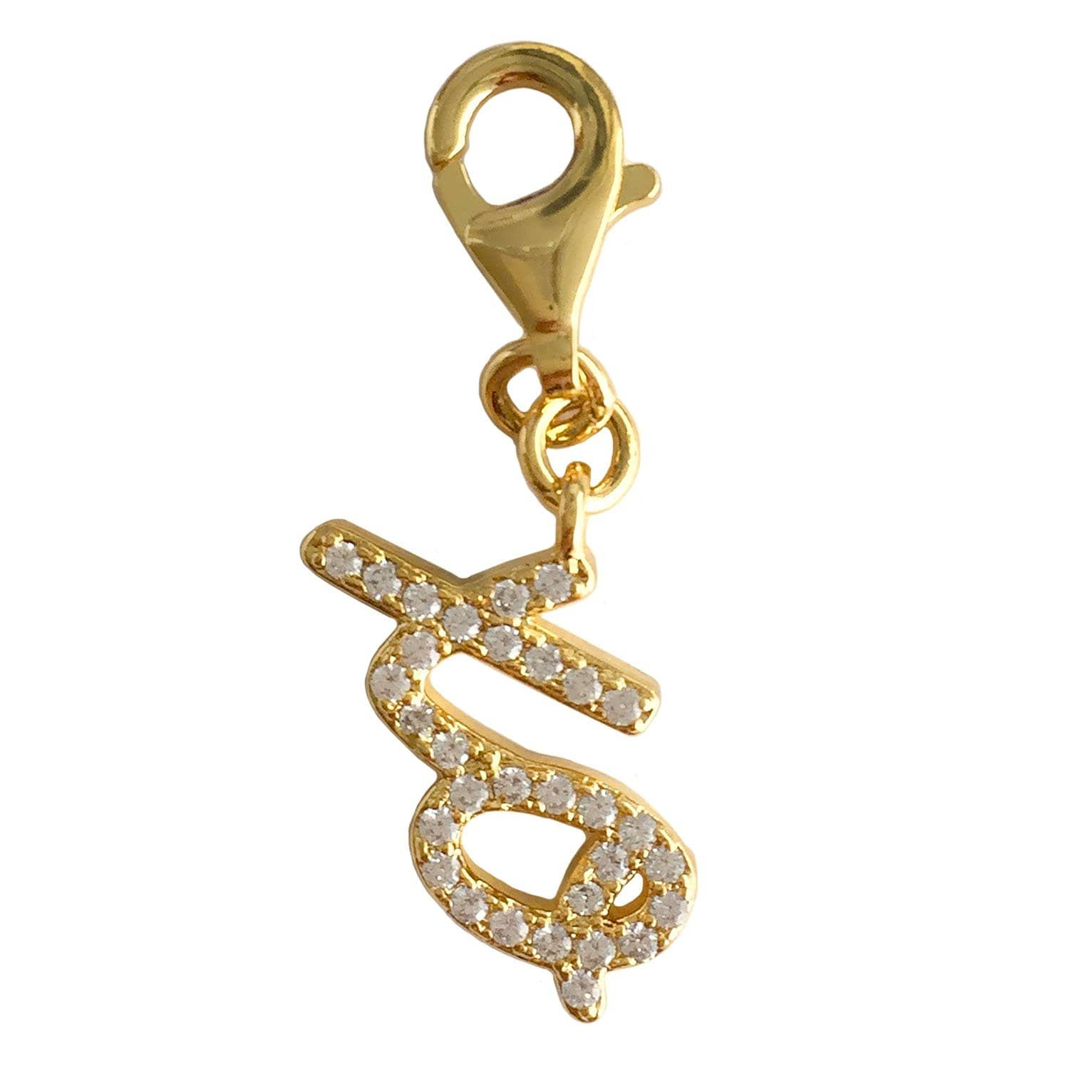 Julieta Jewelry XO Clip-On Charm - Thumbnail 0