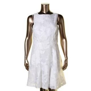Lauren Ralph Lauren Womens Petites Casual Dress Lace A-Line - 16p