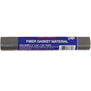 "Custom Accessories 37775 Shop Craft Fiber Gasket Material, 9"" X 36"" X 1/32"""