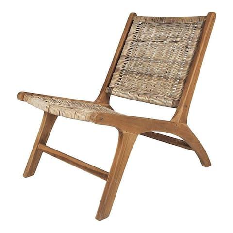 Key Largo Rattan Lounge Chair