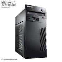 Lenovo ThinkCentre M73 Tower Intel Core I3 4130 3.4GHz, 8GB RAM, 1TB HDD, DVD, W10P(EN/ES)-1 Year Warranty(Refurbished)