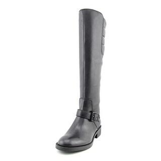 Enzo Angiolini Susig Round Toe Leather Knee High Boot