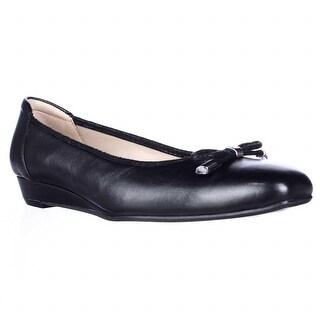 naturalizer Dove Wedge Ballet Flats - Black