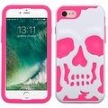 Insten Skullcap Hard PC/ Silicone Dual Layer Hybrid Rubberized Matte Case Cover For Apple iPhone 7 - Thumbnail 8