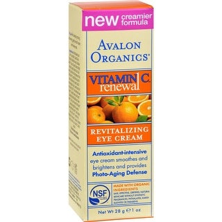 Avalon Organics - Revitalizing Eye Cream With Vitamin C ( 1 - 1 OZ)