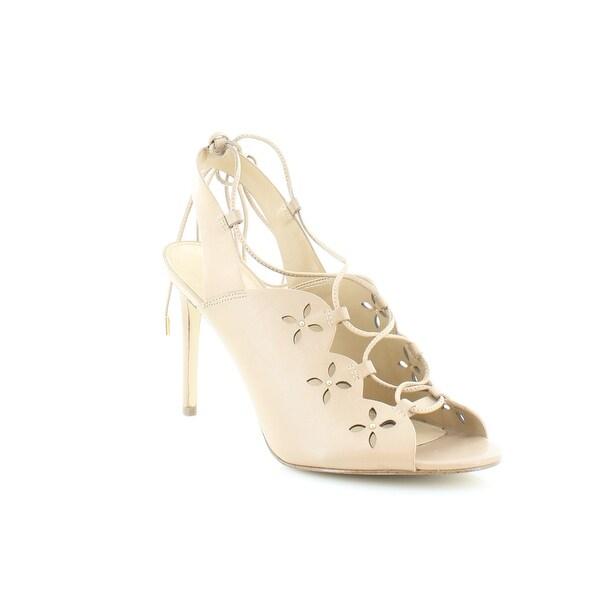 Michael Kors Thalia Dress Sandals Women's Heels Toffee