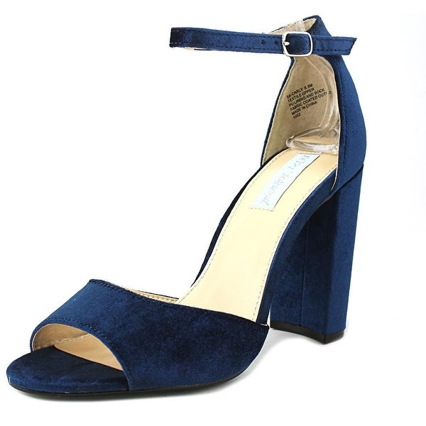 Betsey Johnson Carly Women Open Toe Synthetic Blue Sandals