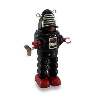Alien Robot Vintage Style Mechanical Wind-Up Decorative Tin Toy
