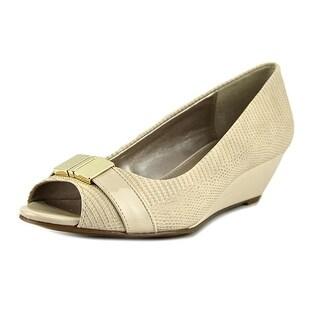 Alfani Chorde Women Open Toe Synthetic Wedge Heel