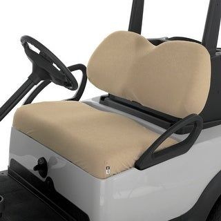 Classic Accessories Terry Cloth Golf Cart Seat Saver Khaki - 40-029-015801-00
