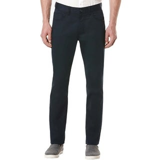 Perry Ellis Big and Tall Dark Sapphire Stretch Flat Front Casual Pants 44 x 30