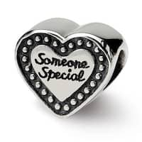 Sterling Silver Reflections Someone Special Bead (4mm Diameter Hole)