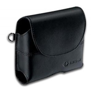 TomTom 3.5-inch Black Premium Leather GPS Case f/ One, GO & Rider Series