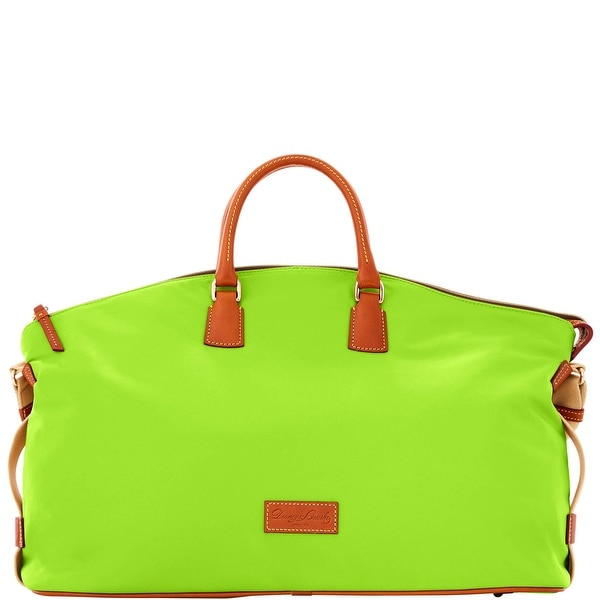 Dooney & Bourke Nylon Weekender (Introduced by Dooney & Bourke at $298 in Sep 2016) - Neon Green
