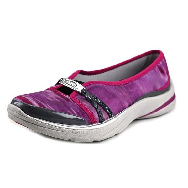 BZees Lavish Women Round Toe Canvas Pink Loafer