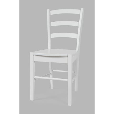 EZ-Style Ladder Back Dining Chair (Set of 2) by Jofran