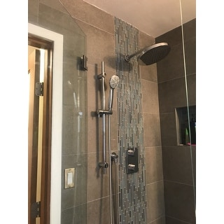 Belanger KIT-UNI140TSCP Universal Thermostatic Shower System from Wall