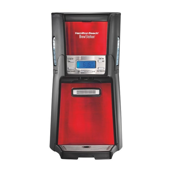 Hamilton Beach BrewStation 12 -Cup Dispensing Coffee Maker. Opens flyout.
