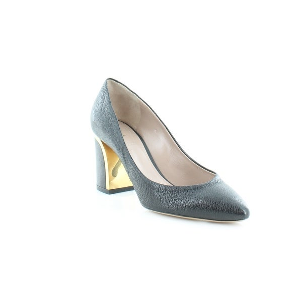 Chloe Goat Med/Heel Pump Women's Heels Black - 4.5