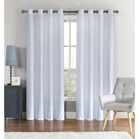 """VCNY Home Radiance Blackout Faux Silk Curtain Panel - 52"""" x 90"""""""