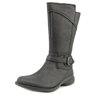 Merrell Captiva Buckle-Down Wp Women Round Toe Leather Mid Calf Boot