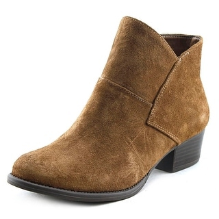 Jessica Simpson Darbey Women Round Toe Leather Tan Ankle Boot